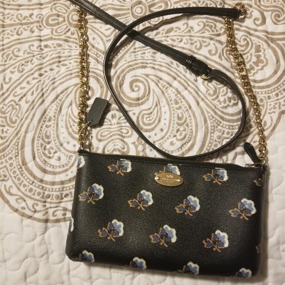 Coach Handbags - Coach mini crossbody bag black